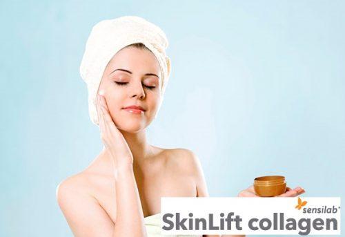 sử dụng kem dưỡng ẩm đi ngủ skinLift collagen