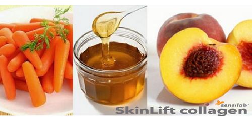 Cà rốt mật ong hạt đào giúp điều trị da khô hiệu quả