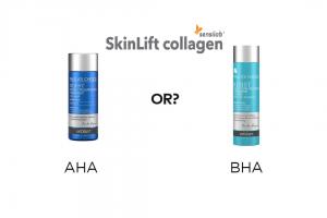 Tẩy tế bào chết hóa học bằng AHA hoặc BHA