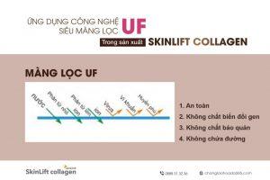 Ứng dụng công nghệ siêu màng lọc UF-skinLift collagen