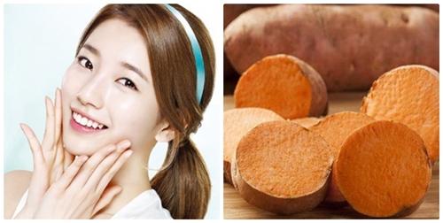 Ăn khoai lang giúp chống lão hóa da hiệu quả - SkinLift Collagen